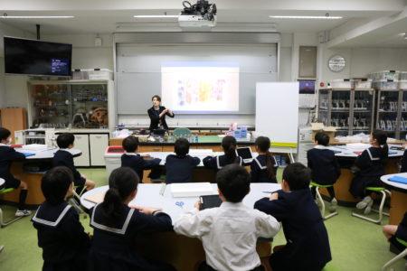 「宝仙学園小学校 理科授業「プロに学ぼう!植物標本作り」(ゲストスピーカー)」イメージ画像
